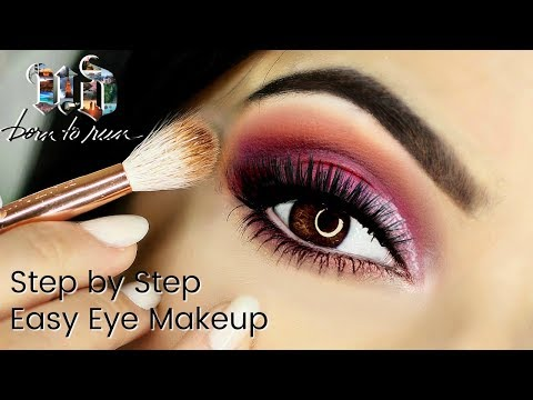 Beginner Eye Makeup Tips & Tricks   Using UD Born To Run Palette Video