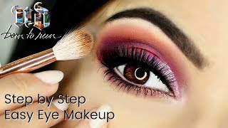 Beginner Eye Makeup Tips & Tricks   Using UD Born To Run Palette