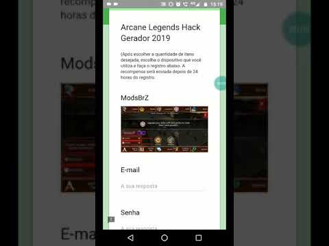 Arcane Legends Hack Generator 2019