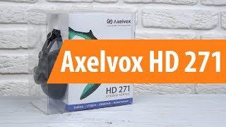 Розпакування Axelvox HD 271 / Unboxing Axelvox HD 271