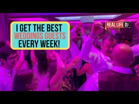 Mobile DJ Gig Log: Best Wedding Guests WEDDING DJ MUST WATCH...