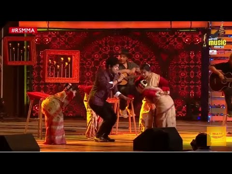 Papon's performance with Bihu dancers at Royal Stag Mirchi Music Awards   #RSMMA