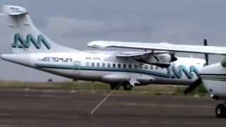 Aeromar - XA-UFA - Aterrizaje & Despegue | Aguascalientes