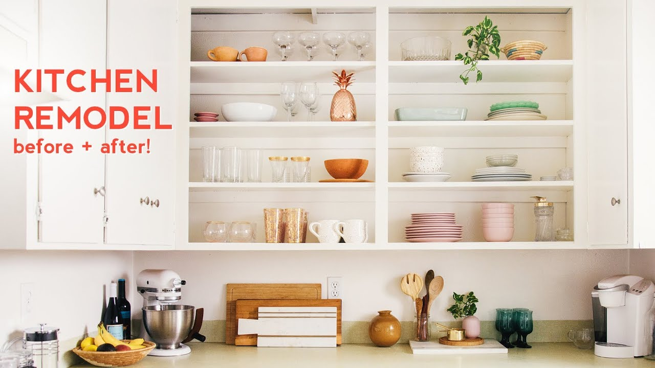 HOW TO REMODEL YOUR KITCHEN ON A BUDGET   Arielle Vey - YouTube