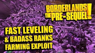 Borderlands: Presequel - CRAZY XP & Badass Rank Farming Exploit - BL