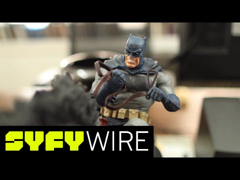 Dark Knight Comic Book Artist Frank Miller Gives Us a Tour of His Studio | SYFY WIRE