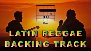 Latin Reggae Guitar Backing Track