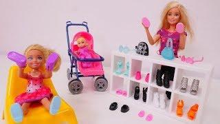 Barbie kauft für Evi neue Schuhe - Video für Kinder