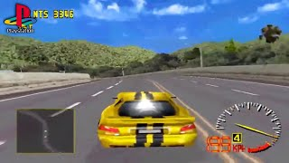 Test Drive 5 (PS1) - Cup Race - Ultimate Cup
