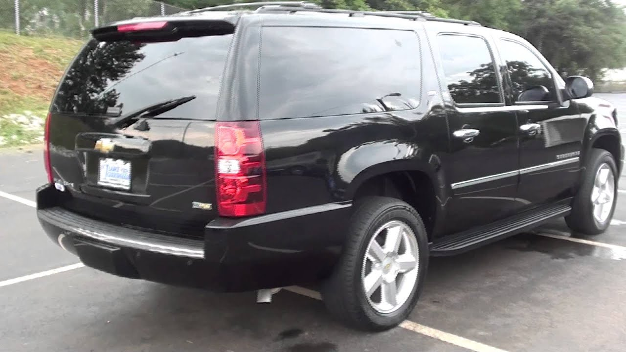 For sale 2009 chevrolet suburban ltz 1 owner navigation stk 11976a youtube