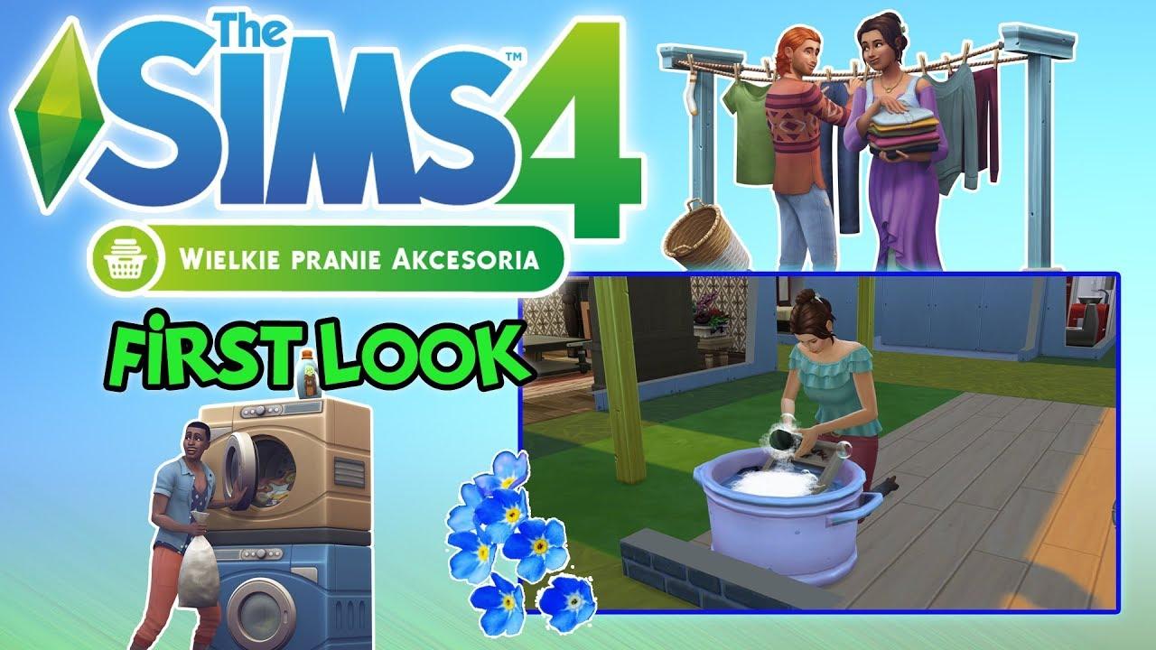 """First Look #79: The Sims 4: Wielkie Pranie – """"Styl rustykalny"""" [PL]"""