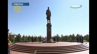 Samarqandda Islom Karimov haykali ochildi
