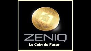 """ZENIQ  SAFIR  comment acheter un HUB  ( un masternode ) pour générer des zeniq coin """" coin du futur"""""""