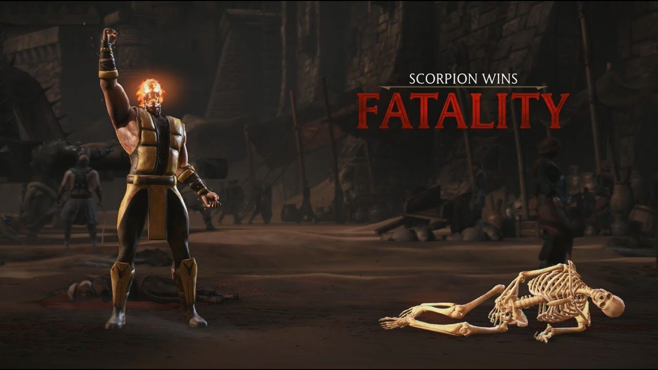 Mortal Kombat X Scorpion Klassic Fatality Toasty Youtube
