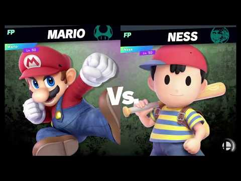 Super Smash Bros Ultimate Amiibo Fights   Request #2674 Mario vs Ness thumbnail