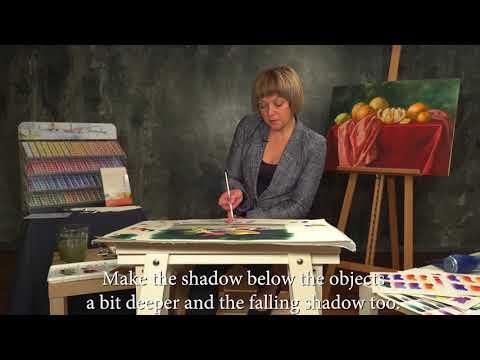 Elena Bazanova's watercolour masterclass. Lesson 8