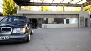 VIK MOTORS: w124 Low  Slow Benz Mercedes Basmak Sanattır