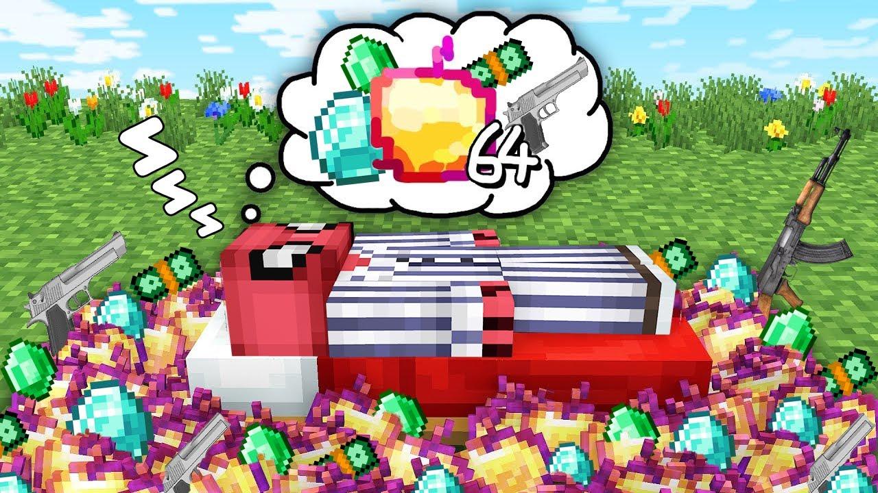 FAKİR MİLYONER RÜYASI💸 😴 (GERÇEK OLDU!) - Minecraft