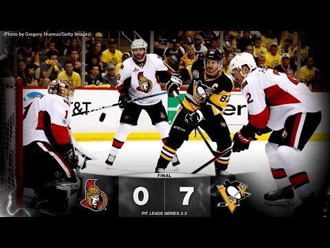 Game 5 - Sens vs. Penguins - Post-game Media