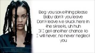 rihanna worklyrics
