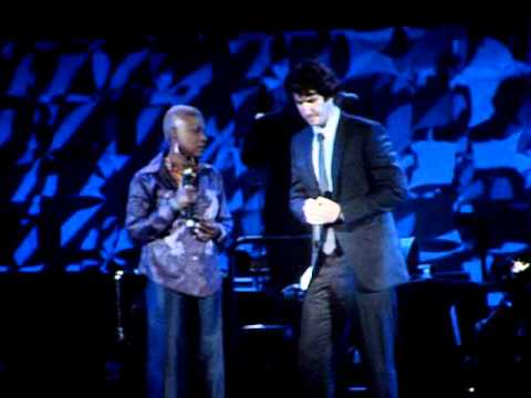 JOSH GROBAN INDUCTED INTO HOLLYWOOD BOWL HALL OF FAME JUNE 19 2009