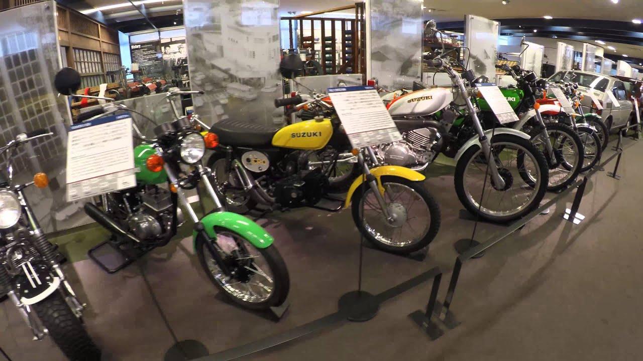 suzuki: a walkthrough of their motorcycle history (4k uhd) - youtube
