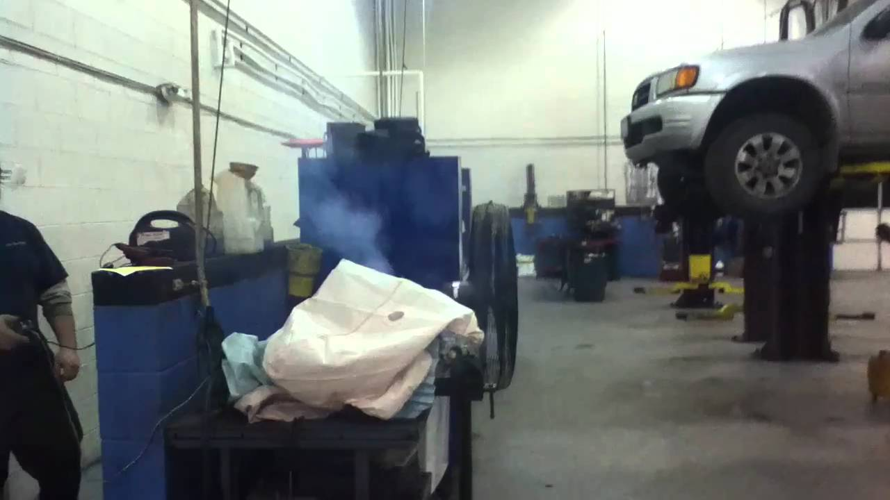 SRS airbag system servicing