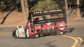 Electric race cars ready to storm 2013 pikes peak hill climb