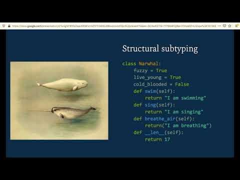 """A Gradual Introduction To Types"" - Laura Hampton (North Bay Python 2019)"