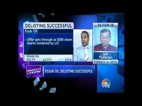 Essar Oil Delisting Successful
