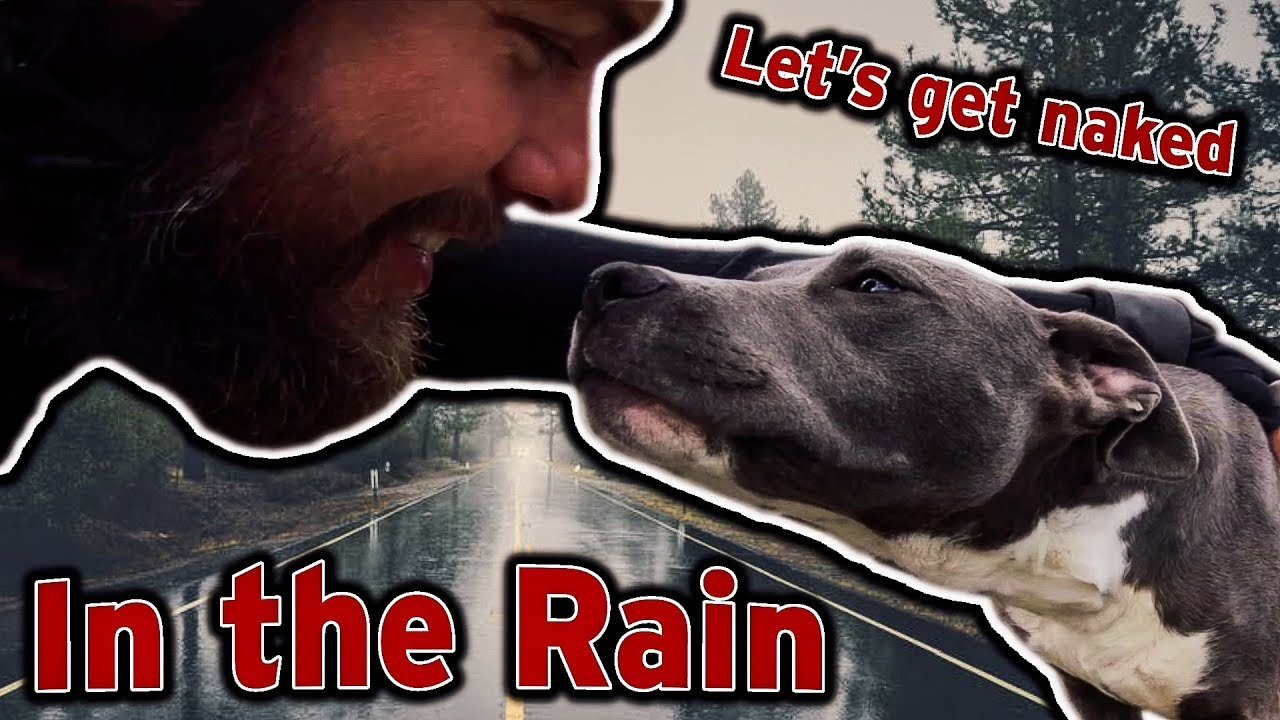 All that rain & living with a nudist - YouTube