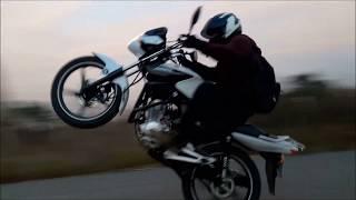 5 Saatte Sıfırdan Tek Teker Öğrenmek | Nasıl Tek Teker Yapılır | Yamaha YBR 125 ESD