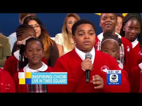 Baltimore's Cardinal Shehan School Choir performs live on GMA