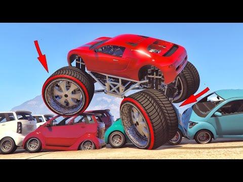 Modificaciones Extremas en gta 5 !! Monster Adder | Grand theft Auto V Pc Mods (Modo historia)