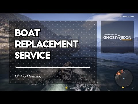 A Terrible Boating Incident Leads To Better Transportation | Ghost Reckon Wildands |