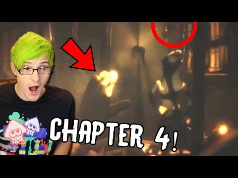 BENDY CHAPTER 4 REVEAL! | Bendy And The Ink Machine Chapter 4 Trailer (Reaction)
