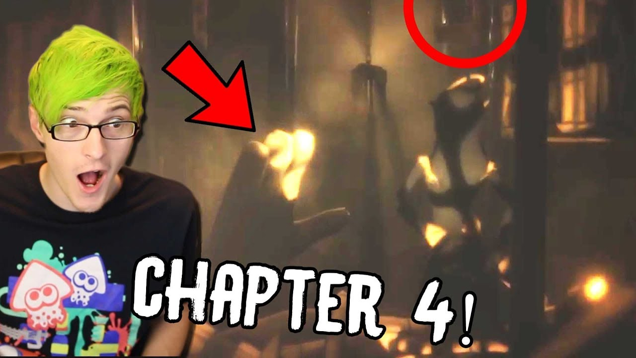 BENDY CHAPTER 4 REVEAL! | Bendy And The Ink Machine ...