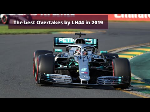 The Best Overtakes By Lewis Hamilton In 2019
