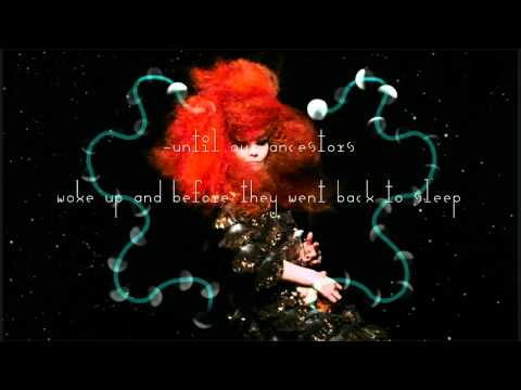 Björk Cosmogony Lyrics