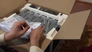 Yamaha RX-V585 unboxing / розпакування