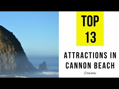 Attractions & Things to do in Cannon Beach, Oregon. TOP 13