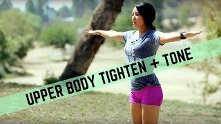 Toned Arms and Sleek Shoulders Workout | Tone and Sculpt