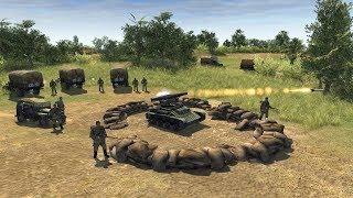 German Assault on Soviet Defense Fails, Retreats | Men of War: Assault Squad 2 Gameplay