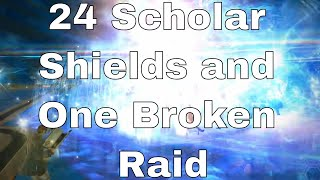 "Aether Data Center BREAKS Syrcus Tower with 24 Scholars [FFXIV Merry ""raids""]"