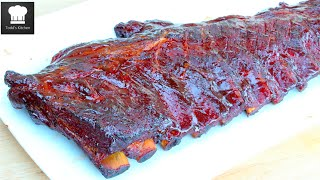 3-2-1 Ribs - Video Recipe(A simple step by step no fail way to make the best smoked/slow-cooked ribs in town. Check out my other Dinner recipes: https://goo.gl/Qvntpg FACEBOOK ..., 2015-08-02T10:00:00.000Z)