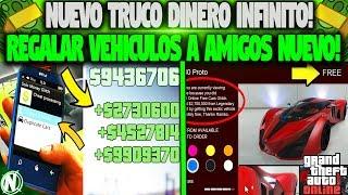 NUEVO TRUCO DINERO INFINITO REGALAR VEHICULO A AMIGOS NUEVO!   GTA 5 ONLINE 1.40