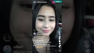 Live IG Prilly Latuconsina