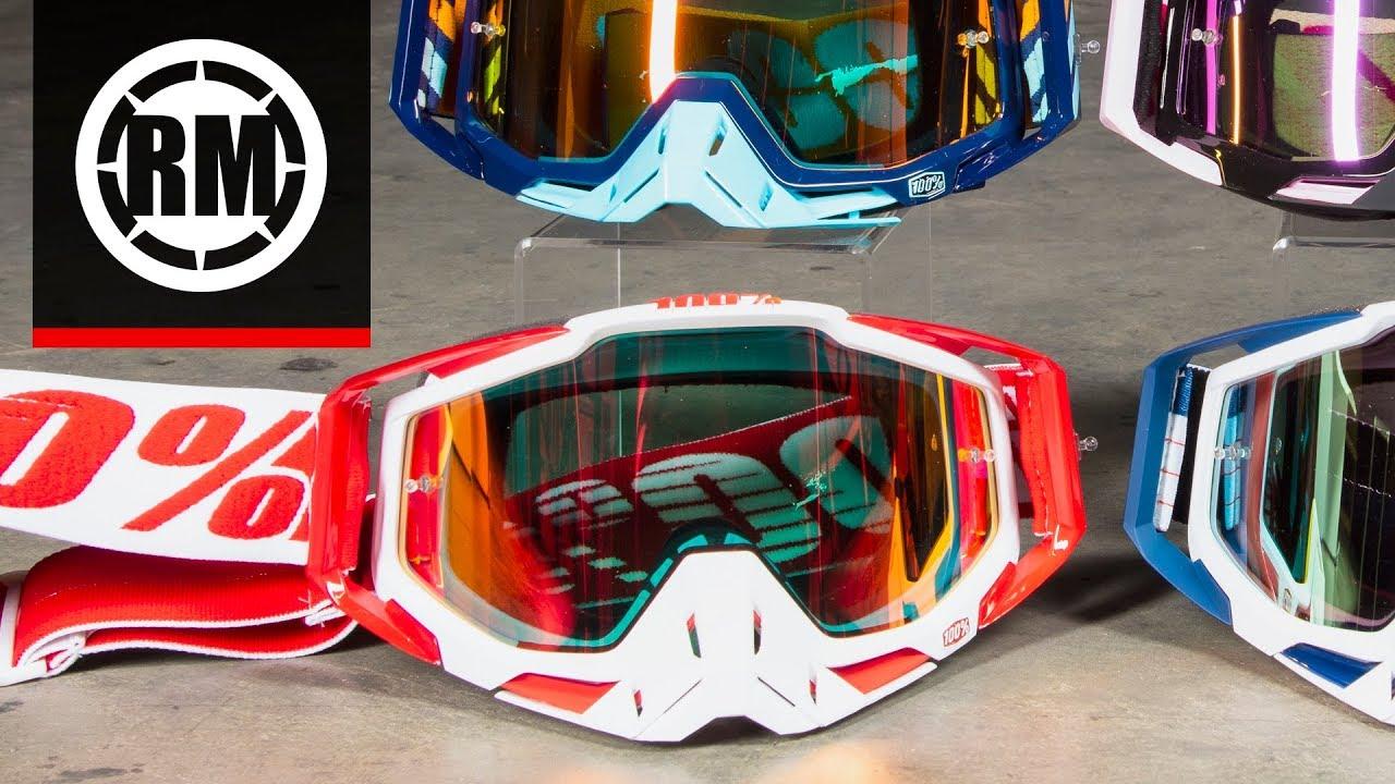 100 Racecraft Motocross Goggle Youtube