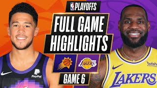 #2 SUNS at #7 LAKERS | FULL GAME HIGHLIGHTS | June 3, 2021