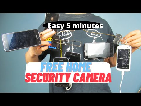 Build easy & free home security system in under 5 minutes